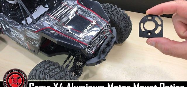Redcat Racing Camo X4 Rock Racing Buggy Aluminum Motor Mount Install [VIDEO]