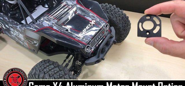 Redcat Racing Camo X4 Rock Racing Buggy Aluminum Motor Mount Install [VIDEO]