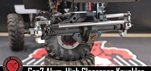 Redcat Racing Gen7 High Clearance Aluminum Knuckle & Link Install [VIDEO]