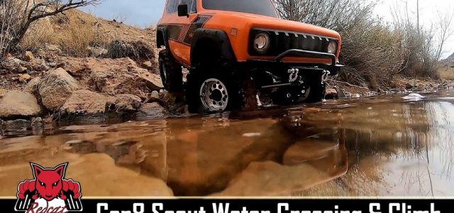 Redcat Racing Gen8 Scout II Scale Crawler Water Crossing & Climb [VIDEO]