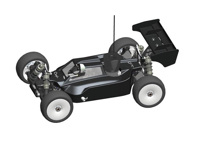 Serpent Cobra SRX8 PRO 1/8 4WD Nitro Buggy Kit