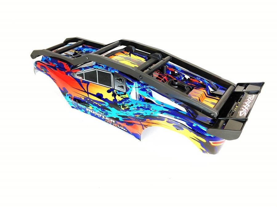 TBR R1 EXO Cage External Roll Cage For The Traxxas Rustler 4x4 VXL