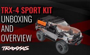 TRX-4 Sport Kit Unboxing & Overview [VIDEO]