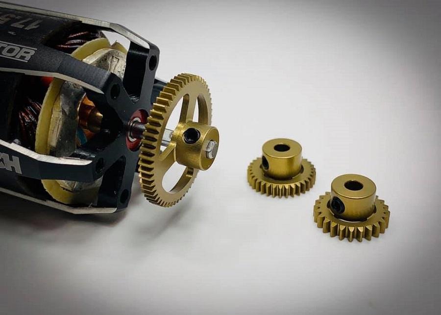 Trinity 48p & 64p Ultra Lightweight Aluminum Pinion Gears