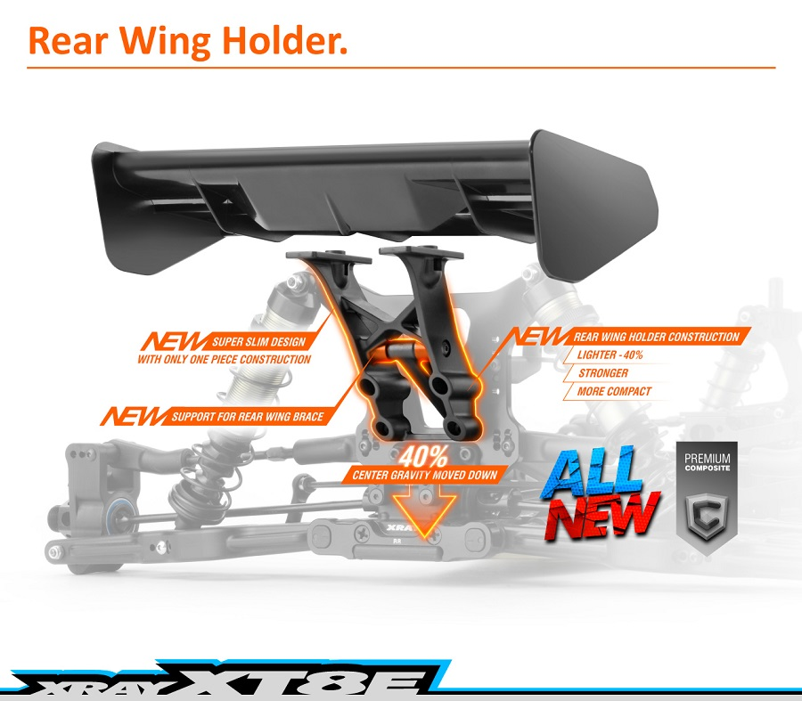 XRAY 2019 XT8E 1/8 4WD Electric Truggy