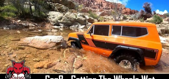Redcat Racing Gen8 Scout II Tearing Through Streams & Dirt [VIDEO]