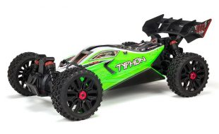 ARRMA 1/8 TYPHON MEGA 550 Brushed 4WD Speed Buggy RTR [VIDEO]
