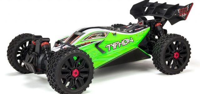 ARRMA 1/8 TYPHON MEGA 550 Brushed 4WD Speed Buggy RTR [VIDEO]