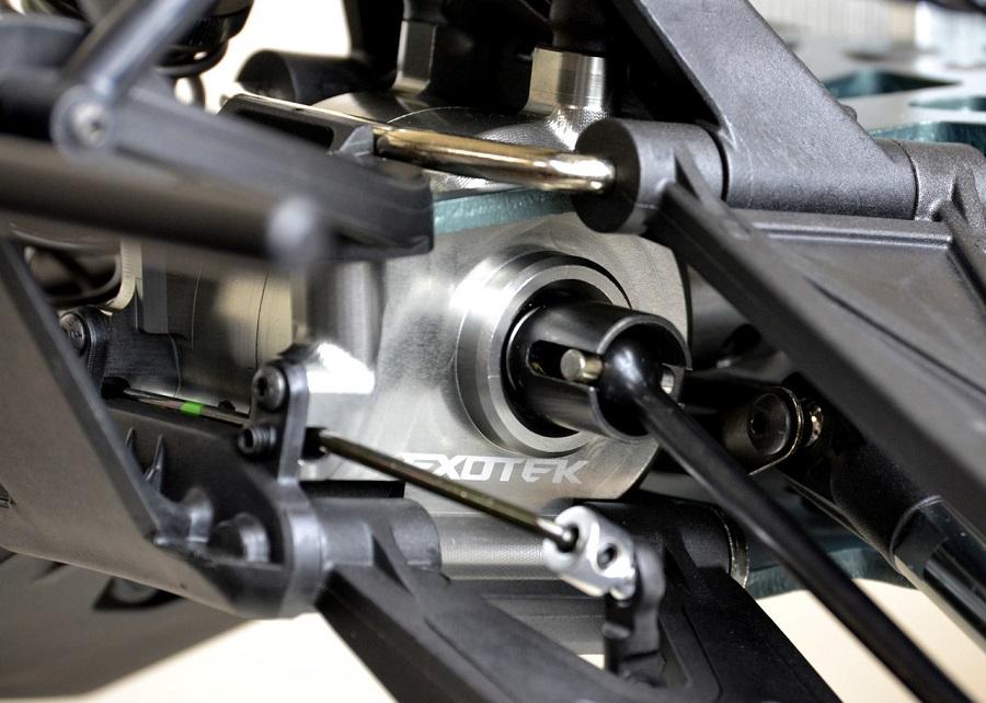 Exotek HD Front Gearbox Set For the Losi Super Baja / Rock Rey