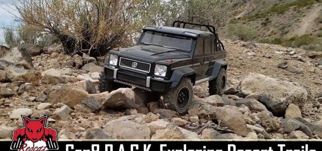 Exploring Desert Trails With A Custom Redcat Racing Gen8 [VIDEO]