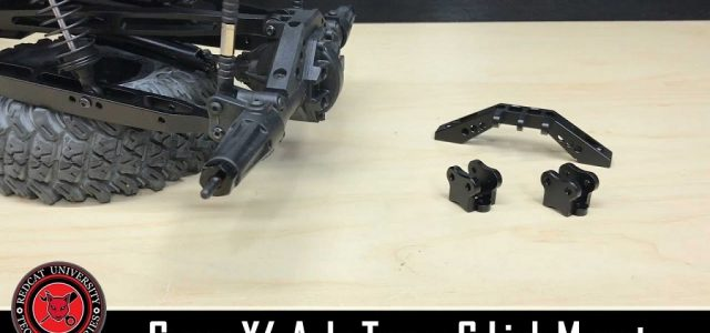 How To: Redcat Racing Camo X4 Aluminum Link Mount & Axle Truss Option Part Install [VIDEO]