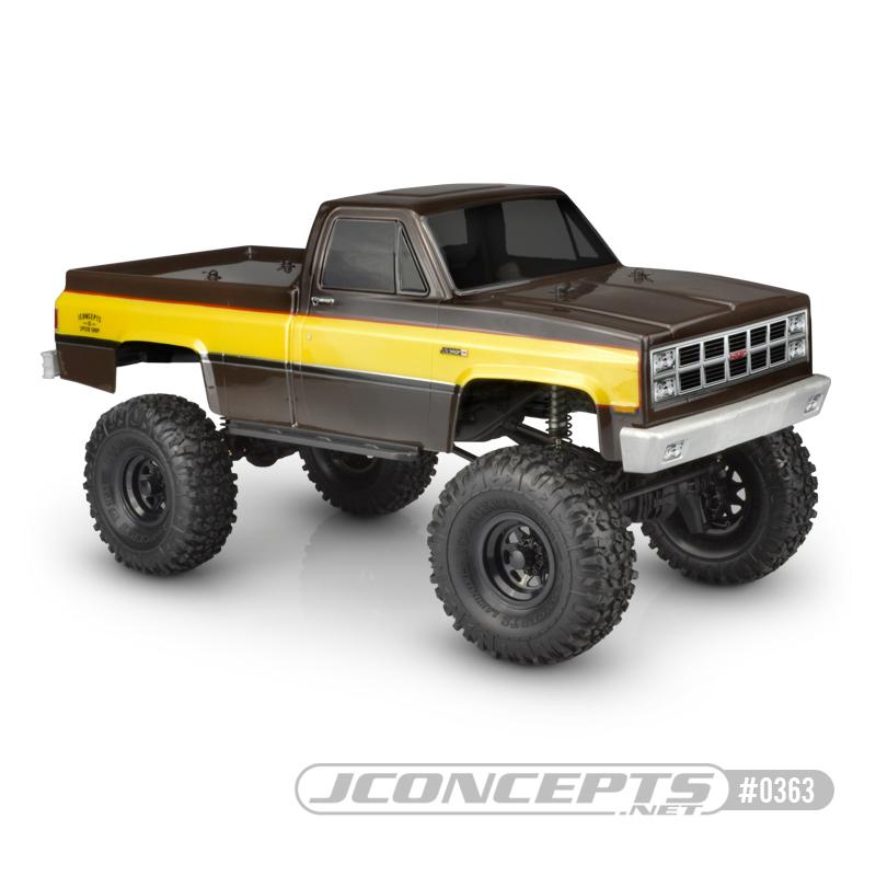 JConcepts 1982 GMC K10 Clear Body
