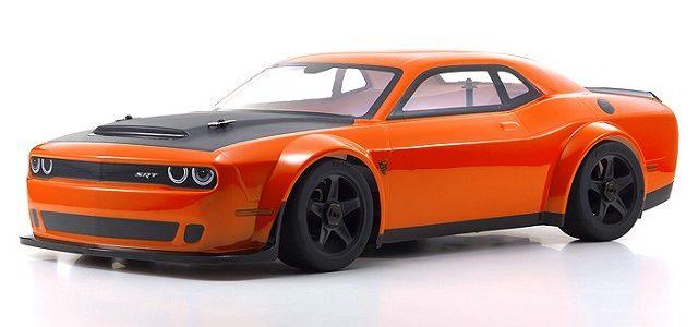 Kyosho INFERNO GT2 VE Dodge Challenger SRT Demon Go Mango