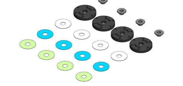 MIP Bypass1 Pistons Now Available For XRAY & Tekno 1/8 Vehicles