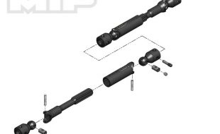 MIP HD Driveline Kit For The Traxxas TRX-4