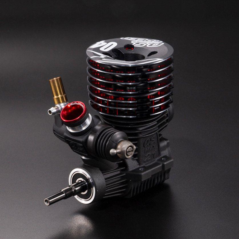 O.S. Speed R2104 1/8 Nitro Engine