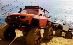 Pacific Coast Crawling With The Traxxas TRX-4 With Traxx [VIDEO]