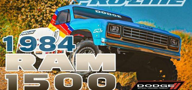 Pro-Line 1984 Dodge Ram 1500 Race Truck Clear Body [VIDEO]