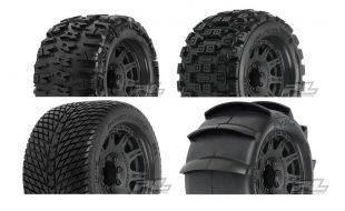 Pro-Line 3.8″ Pre-Mounted 17mm Monster Truck Tires