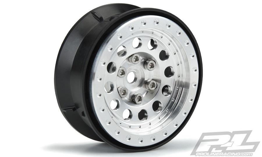 "Pro-Line Rock Shooter 1.9"" Aluminum Composite Internal Bead-Loc Wheels"