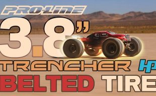 Pro-Line Trencher HP 3.8″ All Terrain BELTED Tires [VIDEO]
