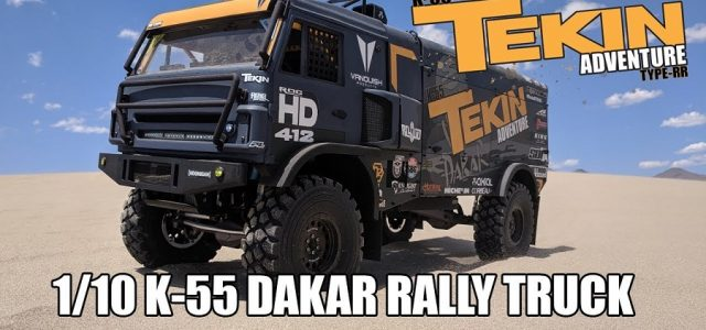 Project K-55: 1/10 Kamaz 3D Printed Rally Raid Truck [VIDEO]