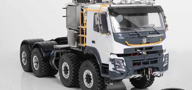RC4WD 1/14 8X8 Tonnage Heavy Haul Truck (FMX)