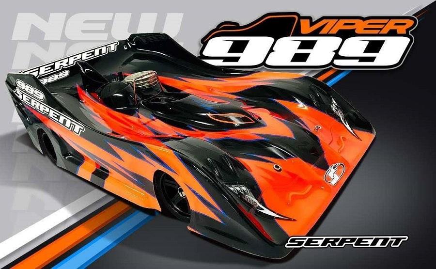 Serpent Viper 989 1/8 GP On-Road Car