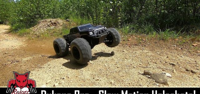 Slow Motion Holeshots With The Redcat Racing Dukono Pro Brushless 4wd Monster Truck [VIDEO]