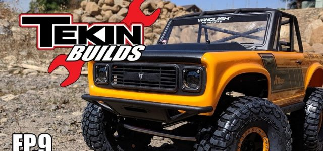Tekin Builds Ep. 9 – Vanquish VS4-10 PRO Chassis Assembly [VIDEO]