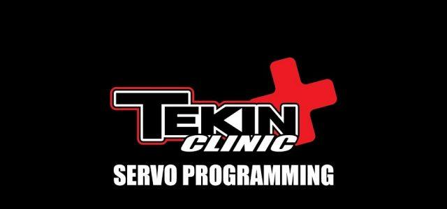 Tekin Clinic: Servo Programming [VIDEO]
