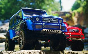 Traxxas TRX-4 Mercedes-Benz G 500 4×4² [VIDEO]