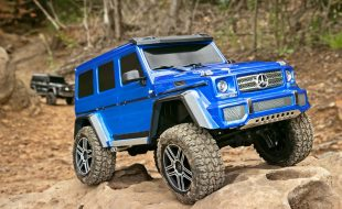 Traxxas TRX-4 With Mercedes-Benz G500 4X4² Body