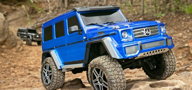 Traxxas TRX-4 With Mercedes-Benz G500 4X4² Body - RC Car Action