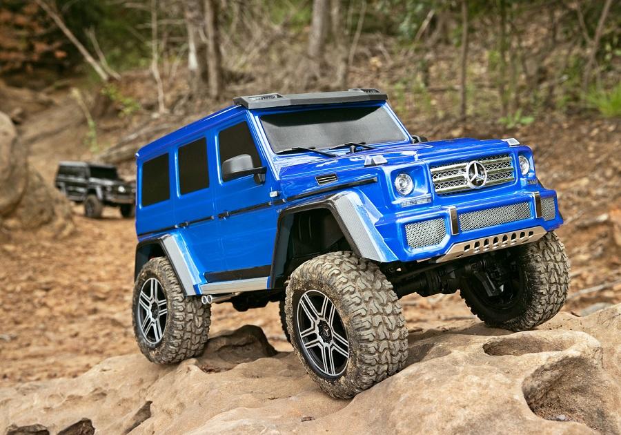 Traxxas TRX-4 With Mercedes-Benz G500 4X4² Body