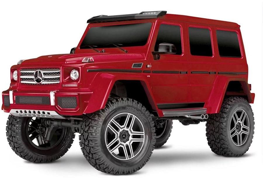 Traxxas TRX-4 With Mercedes-Benz G500 4X4² Body (7)