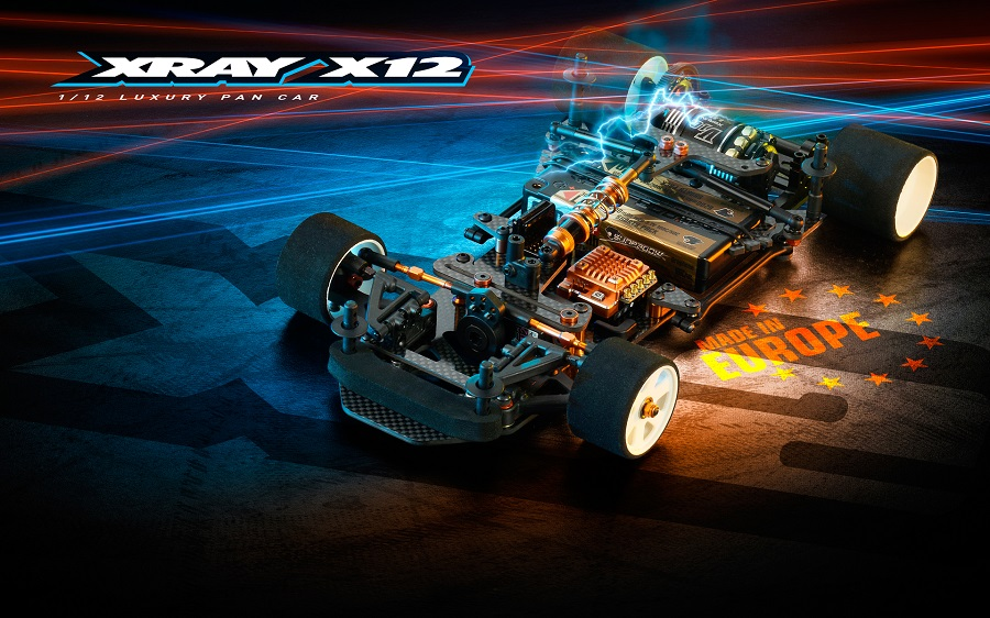 XRAY X12 '20 1/12 Pan Car