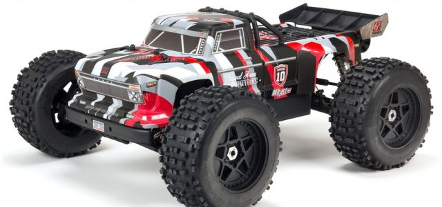 ARRMA 1/8 OUTCAST 6S BLX 4WD Brushless Stunt Truck RTR 10th Anniversary Limited Edition [VIDEO]