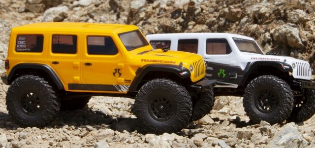 Axial 1/24 SCX24 2019 Jeep Wrangler JLU CRC Rock Crawler 4WD RTR [VIDEO]