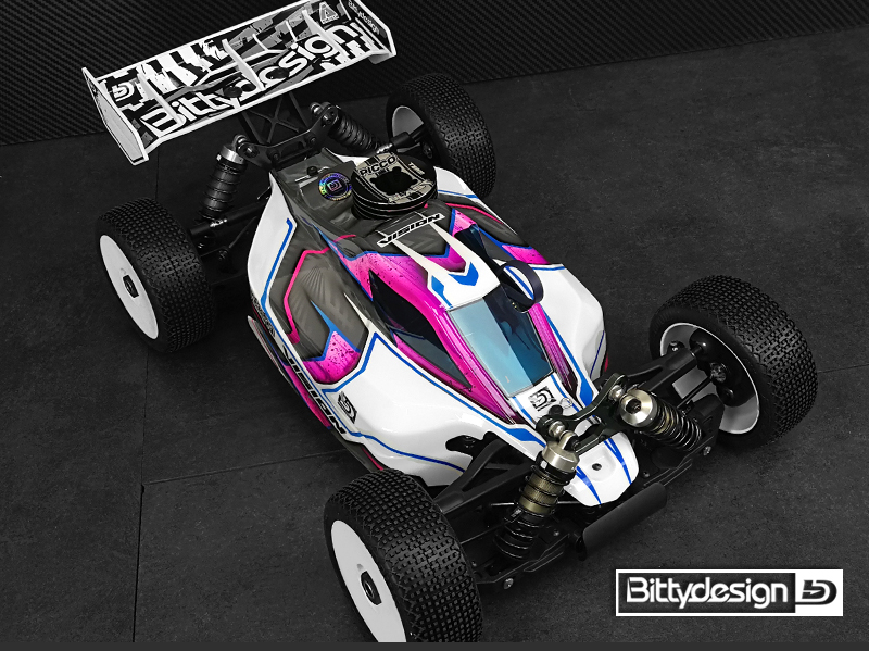 Bittydesign VISION Pre-cut Clear Body For The Mugen MBX8