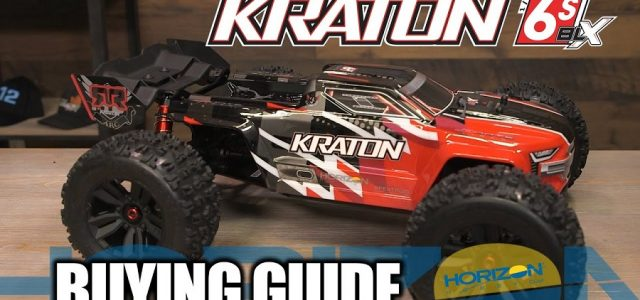 Buying Guide: ARRMA 1/8 KRATON 6S BLX 4WD Brushless Speed Monster Truck (V4) [VIDEO]