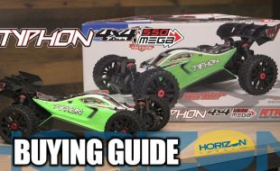 Buying Guide: ARRMA 1/8 TYPHON MEGA 550 Brushed 4WD Speed Buggy RTR [VIDEO]