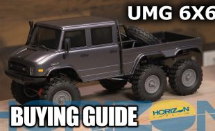 Buying Guide: Axial SCX10 II UMG10 6×6 Rock Crawler RTR [VIDEO]