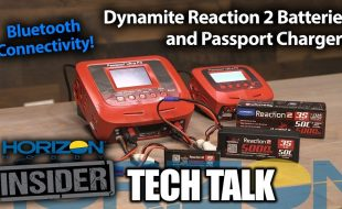 Horizon Insider Tech Talk: Dynamite Reaction 2 Batteries & Chargers With Bluetooth [VIDEO]