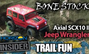 Horizon Insider Trail Fun: Axial SCX10 II Jeep Wrangler Unlimited [VIDEO]