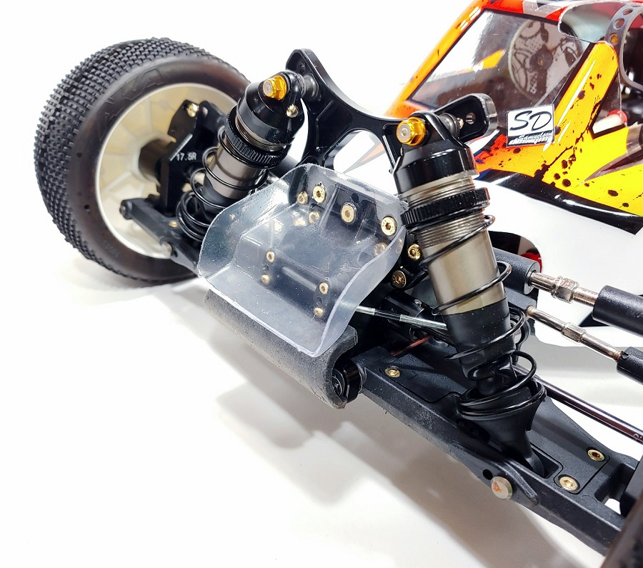 Leadfinger A2.1 Tactic Clear Body & Front Wing For The HB D819/ E819