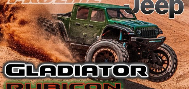 Pro-Line Jeep Gladiator Rubicon Clear Body For The Traxxas X-MAXX [VIDEO]