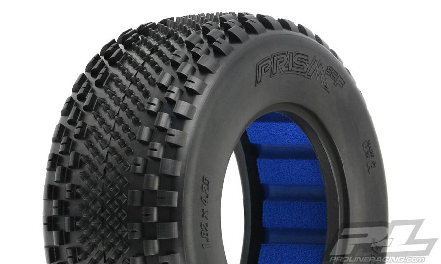 "Pro-Line Prism SC Front 2.2""/3.0"" Off-Road Carpet Tires For SC Trucks"