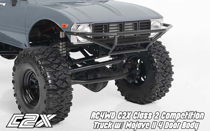 RC4WD C2X Class 2 Competition Truck With Mojave II 4 Door Body