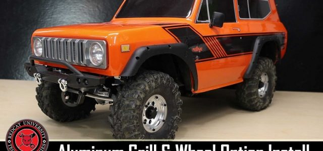 Redcat Racing Gen8 Scout II Aluminum Front Grill & Wheel Set Install [VIDEO]